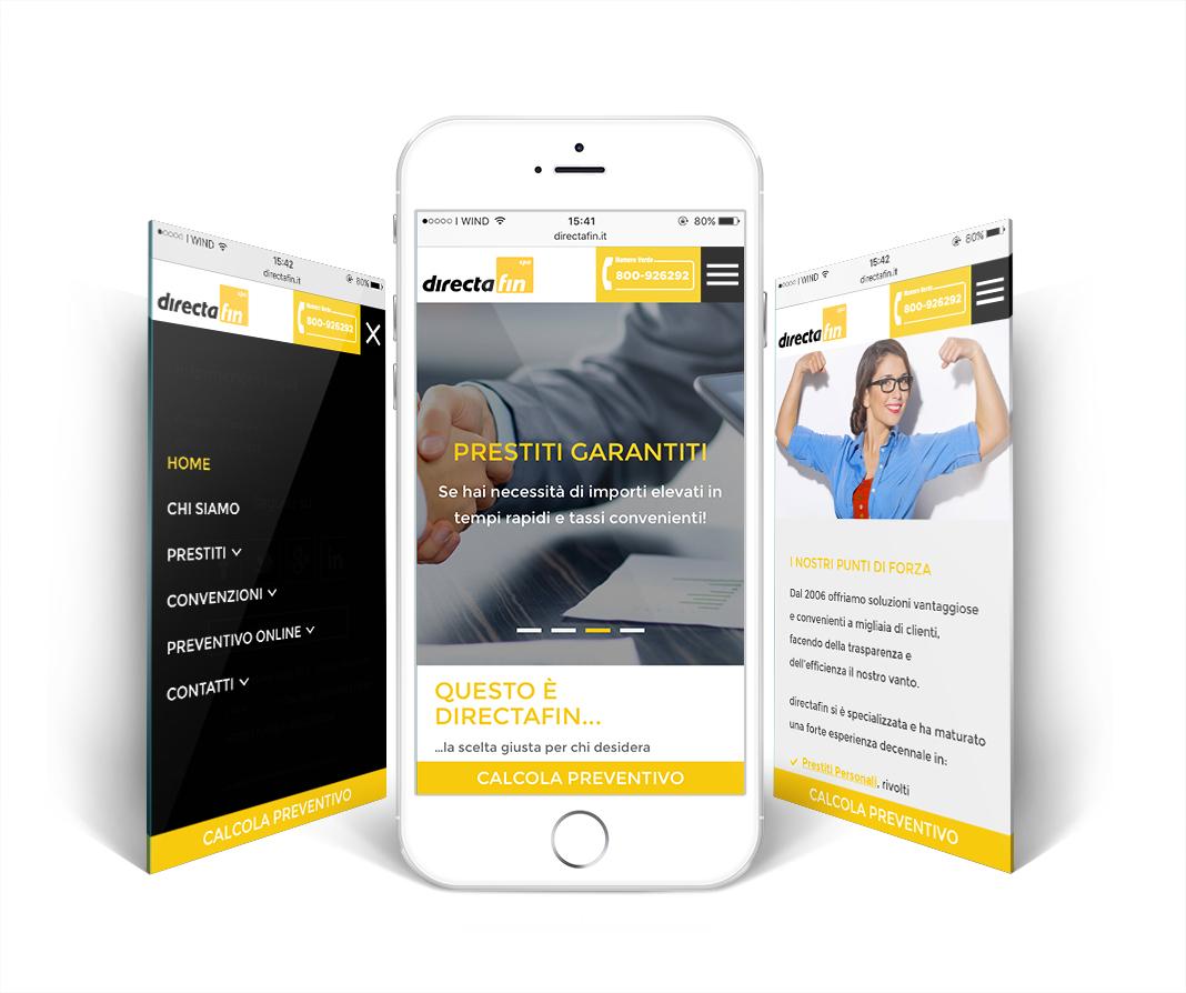 Directafin SPA - Credits Digital Strategy e Consulenza Web Marketing